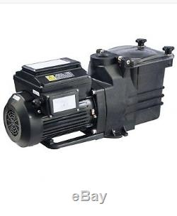 In Ground Variable Speed Pool Pump Energy efficient 1.5hp 220v with Unions