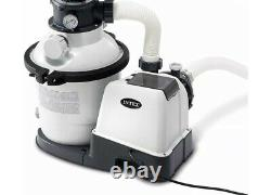 Intex 1200 gph above ground swimming pool sand filter pump IN HANDS BRAND NEW