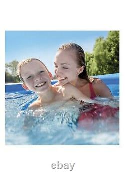 Intex 8 Feet x 24 Inches Easy Set Above Ground Swimming Pool With Filter Pump