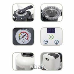 Intex Krystal Clear 3200 GPH 12000 L/h Swimming Pool Sand Filter Pump 26652