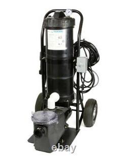 MINI PORTABLE VACUUM II comes with1 HP Pump 100 Sqr ft cartridge 1 Year Warranty