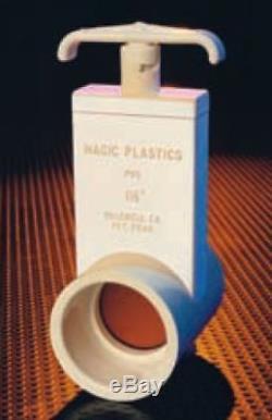 Magic Plastics Uni-Body Knife Valve 1.5slip X 1.5slip