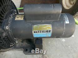 Max-E-Glas II 3/4 HP Full Rated Inground Swimming Pool Pump 3450 RPM