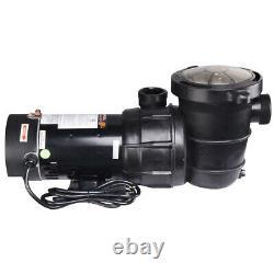 NEW 1.5HP Swimming Pool Pump Water Pump Motor Hayward Strainer Generic In-Ground