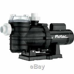 NEW! Flotec Two-Speed In-Ground Pool Pump, 1 HP