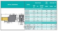NEW HAYWARD SP2607X10 In Ground Max Swimming Pool SuperPump Pump 1 HP 115/230V