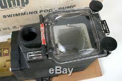 NEW Hayward Super Pump SP-1600-Z1-M 1/2 hp In-Ground Pool Pump Open Box L@@K