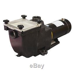 NO RESERVE NEW! In Ground SWIMMING POOL Pump Motor 1.5HP REPLACES SUPERPUMP