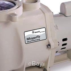 Pentair 011773 1.5 HP WhisperFlo Up-Rated In Ground Swimming Pool Pump (2 Pack)