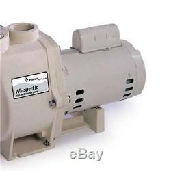 Pentair 011773 1.5 HP WhisperFlo WF-26 Up-Rated In Ground Pool Pump Used