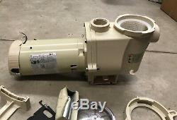Pentair 011774 2 HP WhisperFlo WF-28 Up-Rated In Ground Pool Pump Damaged