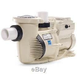 Pentair 22055 IntelliFloXF Efficient Variable Speed 3 HP 230V Inground Pool Pump