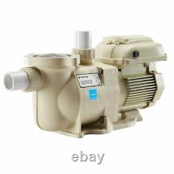 Pentair 342001 SuperFlo VS Variable Speed Energy Efficient Swimming Pool Pump