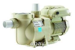 Pentair 342001 SuperFlo VS Variable Speed Pool Pump 1.5 Horsepower, 115/208-230v
