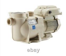 Pentair 342002 SuperFlo VST Variable Speed Pump 1.5HP Almond 115/230 Volt