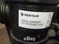 Pentair Challenger High Pressure In-Ground Swimming Pool Pump 342248