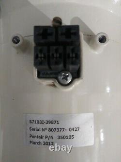 Pentair Self Priming Pump 3 HP Model No. 011018, P/N 350105