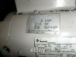 Pentair SuperFlo In-Ground Pool Pumps 340039 2 HP 1.3 SF 2.6 SFHP