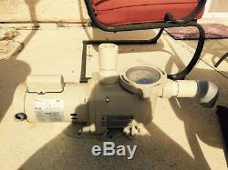Pentair SuperFlo SF-N1 1-1/2A In-Ground 1.5HP Pool Pump
