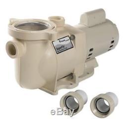 Pentair SuperFlo SF-N1-2A In-Ground 2HP Pool Pump