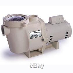 Pentair WhisperFlo 1 HP Full Rated EE 011513 WFE-4 Inground Swimming Pool Pump