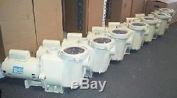 Pentair WhisperFlo 1 HP WFE-4 Full-Rated Inground Swimming Pool Pump 011513
