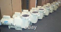 Pentair WhisperFlo 2 HP Full Rated Inground Swimming Pool Pump 011515 WFE-8