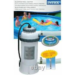Pool-Heater Pump Electric Pool 3KW for swimming pool complete 220V Intex 28684