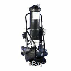 Portable Vacuum System Includes a powerful 1.5 HP full rated In Ground Pool Pump