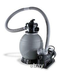 QuickShip Deluxe 22 Sand Filter with 1-1/2 HP Pump for Above Ground Pools