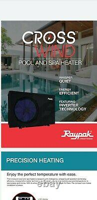 Raypak A Rheem Company Crosswind Pool Spa Heat Pump 50-I 44,750 BTU Heat & Cool