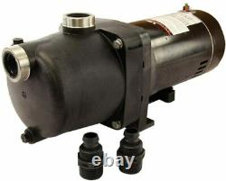 Rx Clear 1 HP Universal Booster Swimming Pool Pump for Swimming Pool and Spa