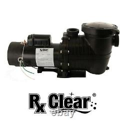 Rx Clear Mighty Niagara 1.5 HP Dual Speed In-ground Swimming Pump