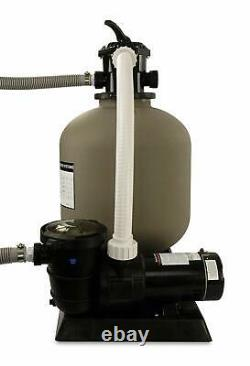 Rx Clear Radiant Above Ground Swimming Pool Sand Filter Systems (Various Sizes)