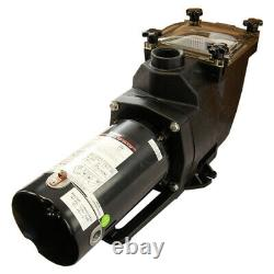 Rx Clear Super Hi-Flow In-Ground Swimming Pool Pump 48 Frame (Various HP)