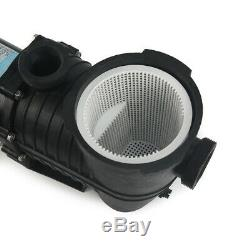SALE In-Ground Swimming Pool Pump Spa Motor Strainer Above Ground Dual Volt