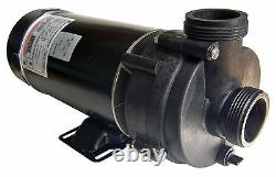 Spa Hot Tub Pump 2hp, 2 Speed, 230 Volts, 1.5 Center Discharge