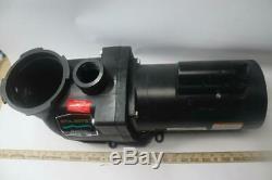 Sta-Rite PHK2RA6E-102L SuperMax Inground Pool Pump, 1 HP 115/230V