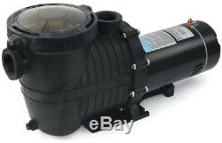 Stark 1.5 HP In-Ground Pool Pump Single Speed 115/230-Volt Dual Watt 5040 GPH