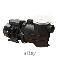 Swimming Pool Electric Pump SPA 110 V 7800 l / h max Delivery 7m Water in Ground