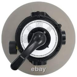 Swimming Pool Sand Filter Above Ground Pool System 4 Valve Fit 0.35-0.5 HP Pump