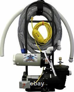 Tomcat Top Gun Sidewinder Portable Pool Vacuum Cleaner. 75 HP Pump