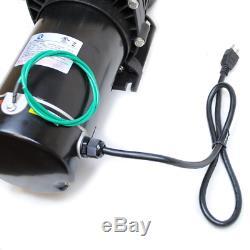 TruSonik 2 HP In-Ground Swimming Pool Pump Motor Strainer Above Inground L
