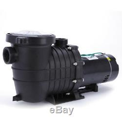 UL Listed 1HP 110-120V Swimming Pool Pump Motor Strainer In Ground &Above Ground