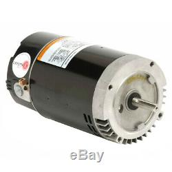 US MOTORS #ASB130 IN GROUND POOL Pump Motor 2 hp 3450 RPM 230 Volts THREADED