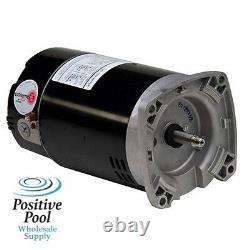 US MOTORS ASB847 1.0 HP Pool Pump Motor EB853 B853 B2853 340038 WF-24