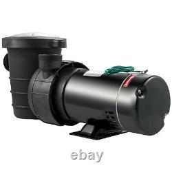 VEVOR 1.5HP Swimming Pool Pump Motor 4980GPH In/Above Ground 1.5