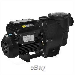 Variable Speed 1.5HP Digtal lcd Control inground Pool Pump 230V