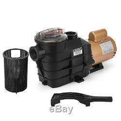 Vevor 1 HP Swimming Pool Pump SP2607X10 In Ground 17M3/H Corrosion Proof