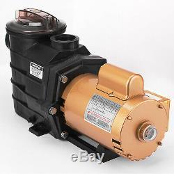 Vevor Super Pump 1.5 HP In Ground Swimming Pool Pump 1 1/2 HP SP2610x15